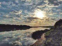 Morning Don river Royalty Free Stock Image
