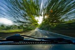 Morning drive Jamaica Stock Photography