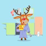 Morning Drowsiness Cartoon Vector Concept Royalty Free Stock Photos