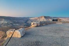 Morning at the Ein Avdat National Park Stock Photo