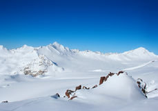 Morning on Elbrus Stock Photo