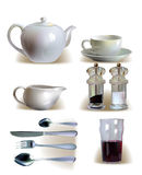 Morning essential set, Stock Image