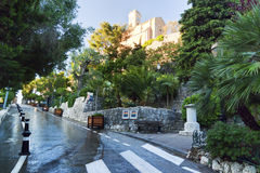 Morning in Eze Royalty Free Stock Image