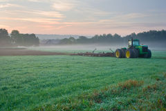 Morning on the farm. Royalty Free Stock Image