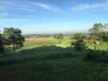 Morning farmland landscape Stock Photo