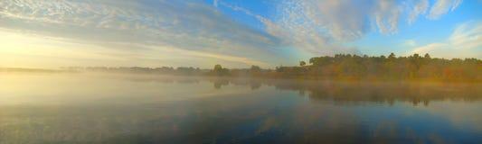 Morning before fishing Stock Image