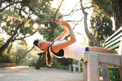 Morning Fitness Stock Photography