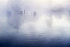 Morning fog. The photo was taken in Mojie scenery spot Erdao baihe town Antu county yanbian Korean autonomous prefecture Jilin province, China Stock Photography