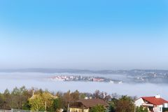Morning fog Royalty Free Stock Photos