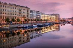Morning on Fontanka Royalty Free Stock Images