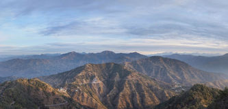 Morning in the foothills of the Himalayas Royalty Free Stock Photography