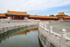 Morning in Forbidden city 1 Royalty Free Stock Images