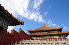 Morning in Forbidden city 10 Stock Image