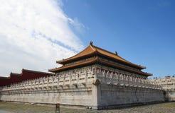 Morning in Forbidden city Stock Image