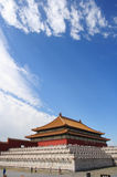 Morning in Forbidden city 11 Royalty Free Stock Photography
