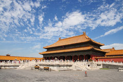 Morning in Forbidden city 12 royalty free stock images