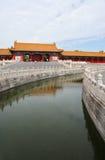 Morning in Forbidden city 2 Stock Photos