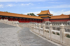 Morning in Forbidden city 6 Stock Images