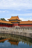 Morning in Forbidden city 7 Stock Photography