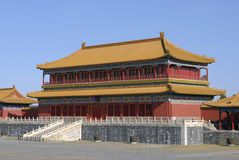 Morning in Forbidden City Royalty Free Stock Photos