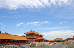 Morning in Forbidden city 9 Royalty Free Stock Photo