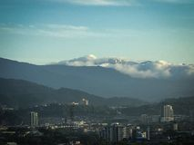 Morning Genting highlands on the top of mountain Royalty Free Stock Photos
