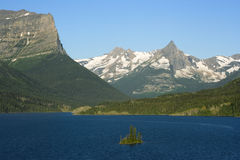 Morning in Glacier National Park Stock Photography