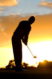 Morning golf Royalty Free Stock Photo