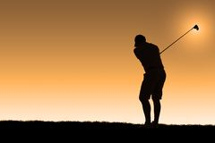 Morning golf Stock Photos