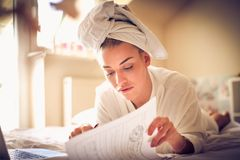 Morning is good time for business. Lifestyle stock image