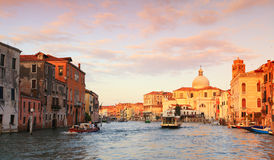 Morning on the Grand Canal Royalty Free Stock Photo