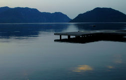 Morning at the gulf. Of Marmaris Stock Photos