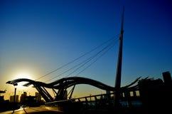 Morning in Haihe River Beach Park Royalty Free Stock Photos
