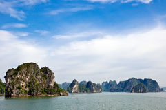 Morning in Halong Bay Stock Images