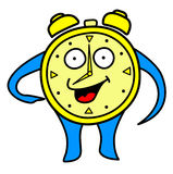 Morning happy clock Royalty Free Stock Photography