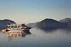 Morning  Harbor in Marmaris, Turkey Royalty Free Stock Photography
