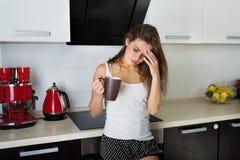 Morning headache Royalty Free Stock Image