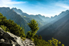 Morning in High Tatras, Slovakia Royalty Free Stock Image