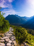 Morning in High Tatras, Slovakia Royalty Free Stock Photos