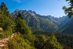 Morning in High Tatras, Slovakia Royalty Free Stock Photo