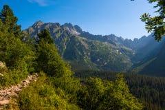 Morning in High Tatras, Slovakia royalty free stock photo