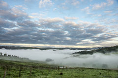 View from Lithgow countryside town in NSW Australia Stock Photography