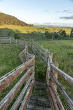 View from Lithgow countryside town in NSW Australia Stock Photos