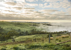 View from Lithgow countryside town in NSW Australia Royalty Free Stock Images