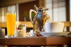 Morning Hotel Breakfast Royalty Free Stock Photos