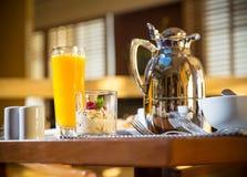 Morning Hotel Breakfast Royalty Free Stock Photo