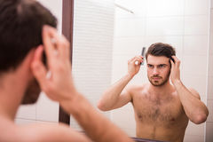 Morning hygiene Royalty Free Stock Images