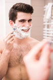 Morning hygiene Royalty Free Stock Photo