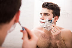 Morning hygiene Royalty Free Stock Image
