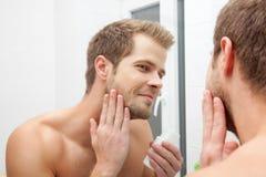 Morning hygiene Stock Image